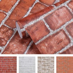 Coavas Brick Wallpaper Peel and Stick