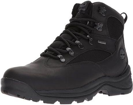 Timberland Men's Chocorua Trail Gore-Tex Mid Hiking Boot (9.5 D(M) US/42-43 EUR, Black)