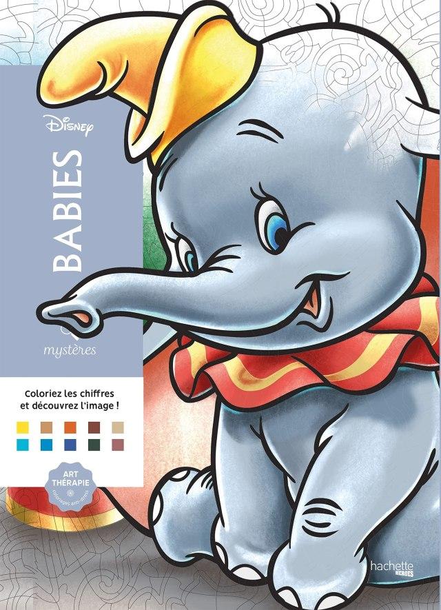 Coloriages mystères Disney Babies : Disney, Perez, Christophe