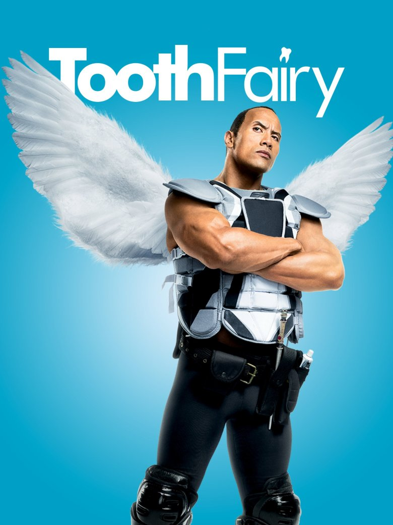 Image result for Dwayne 'The Rock' Johnson tooth fairy