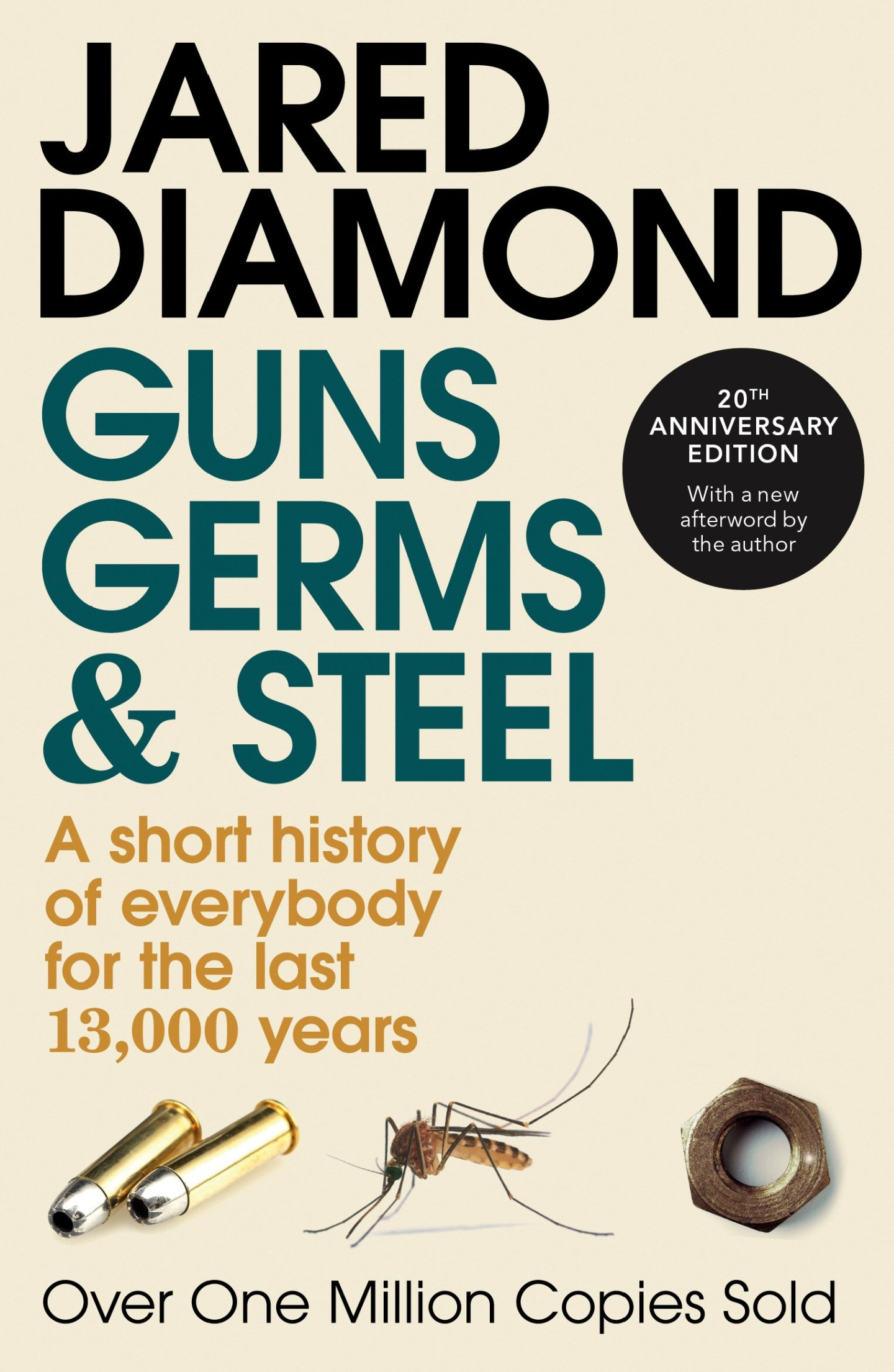 Book 'Guns, Germs, and Steel' by Jared Diamond