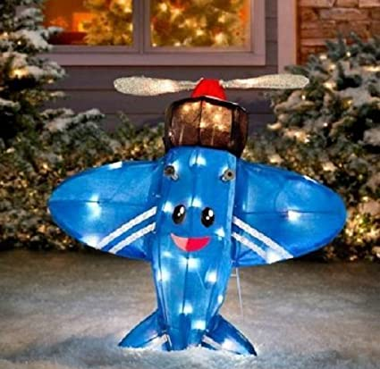 Rudolph The Red Nosed Reindeer Island Of Misfit Toys Blue Plane That Could Not Fly