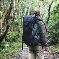 Black Orca LITE Roamer UL Backpack, 55L+5L, 2.5Ibs, Water Resistant