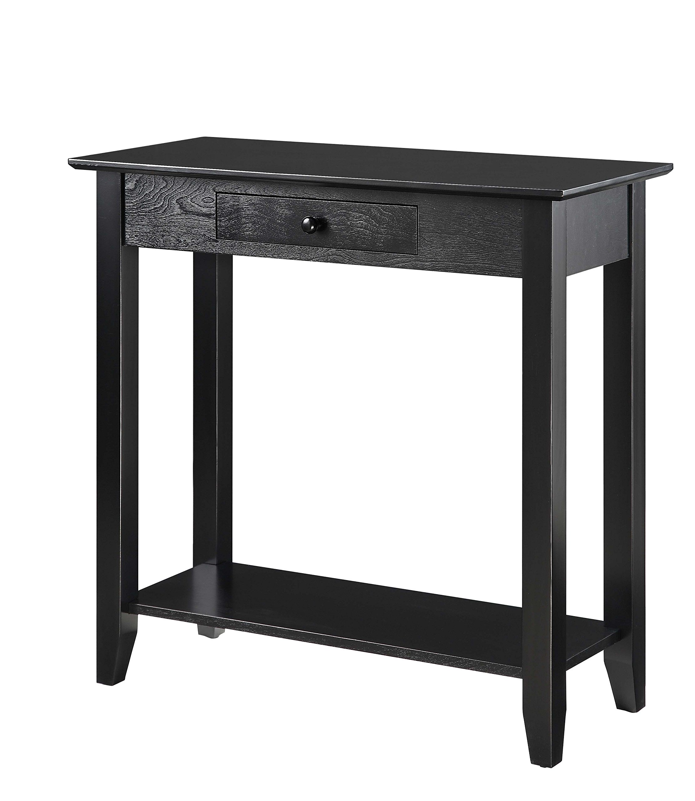 title | Black Foyer Table