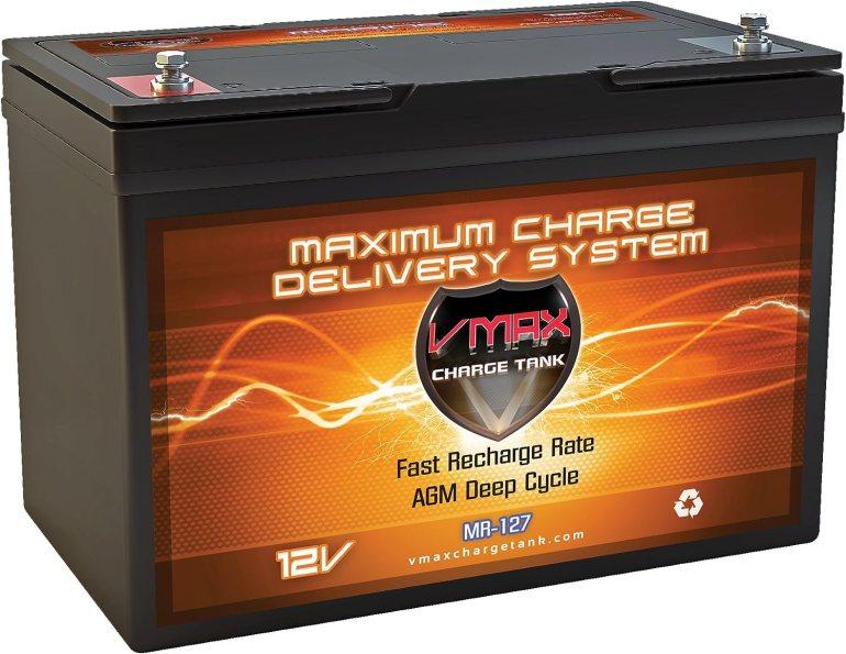 VMAX MR127 12 Volt 100Ah AGM Deep Cycle Battery