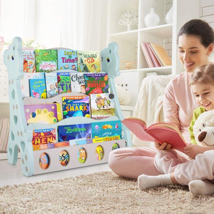librería para la habitación de los niños