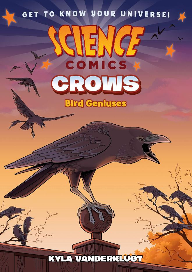 Science Comics: Crows: Genius Birds: Vanderklugt, Kyla: 9781626728028:  Amazon.com: Books