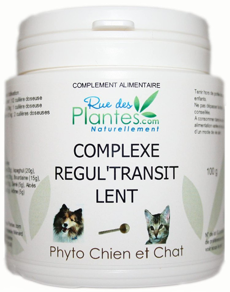 laxatif pour chat réfule transit intestinal