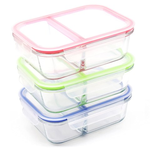 how to meal prep with glass containers