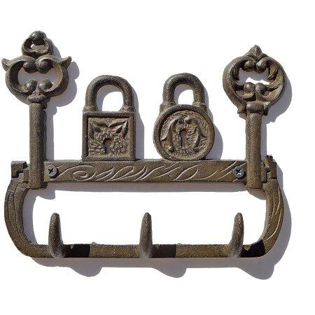 Fancy Decor Wall Keyholder  Rustic Iron Key Holder
