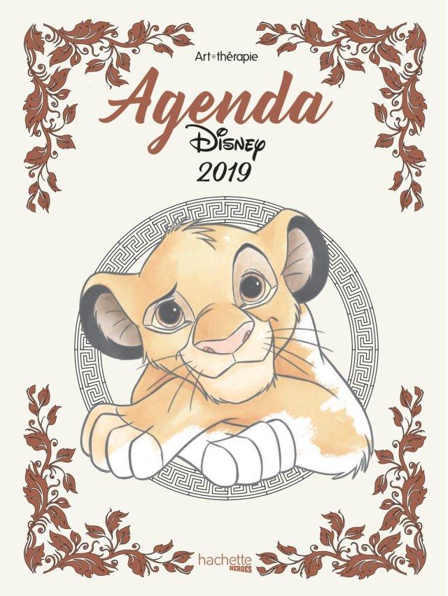 Agenda Art-Thérapie Disney 8 : Hachette: Amazon.de: Bücher