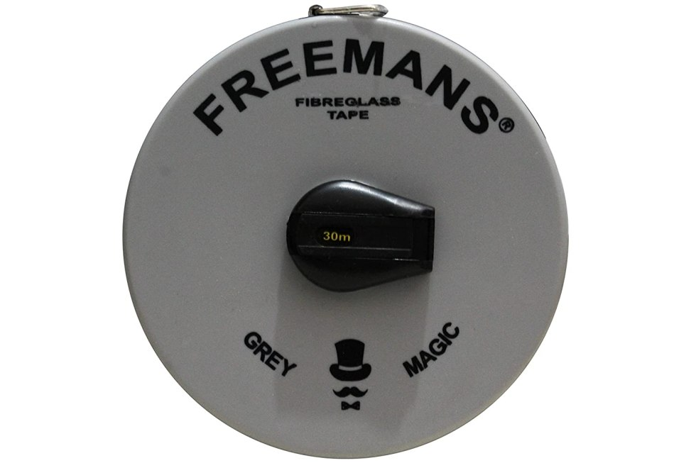 Sd Enterprises Plastic Freemans  Fiber Glass Measuring Tape (30 M, Grey And Black). One of the Best quality Measuring Tape