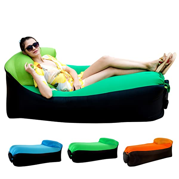 Inflatable Sofa Review: HAKE Inflatable Lounger Air Sofa Chair Review
