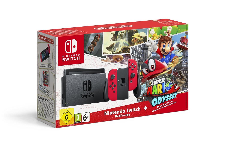 Nintendo Switch Mario Odyssey (Amazon Tiers)