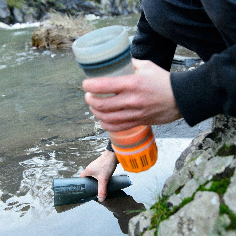 GRAYL Ultralight Water Purifier Filter Bottle