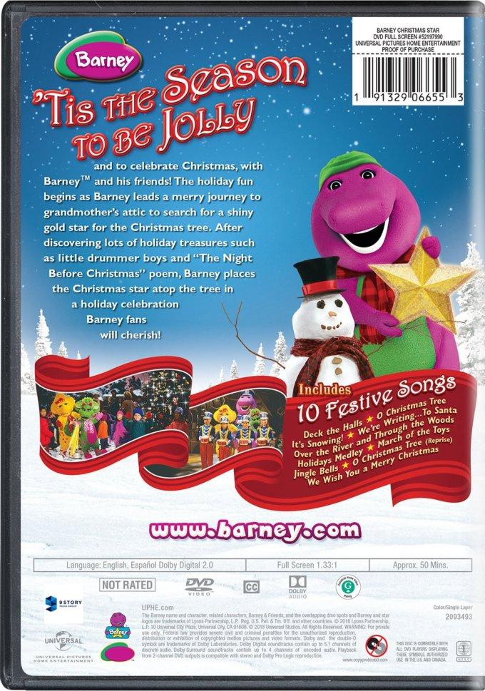 Barney S Christmas Star Dvd | Christmaswalls.co