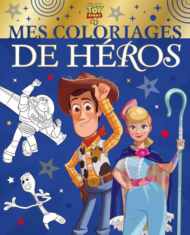 TOY STORY 21 - Mes Coloriages de Héros - Disney Pixar (French