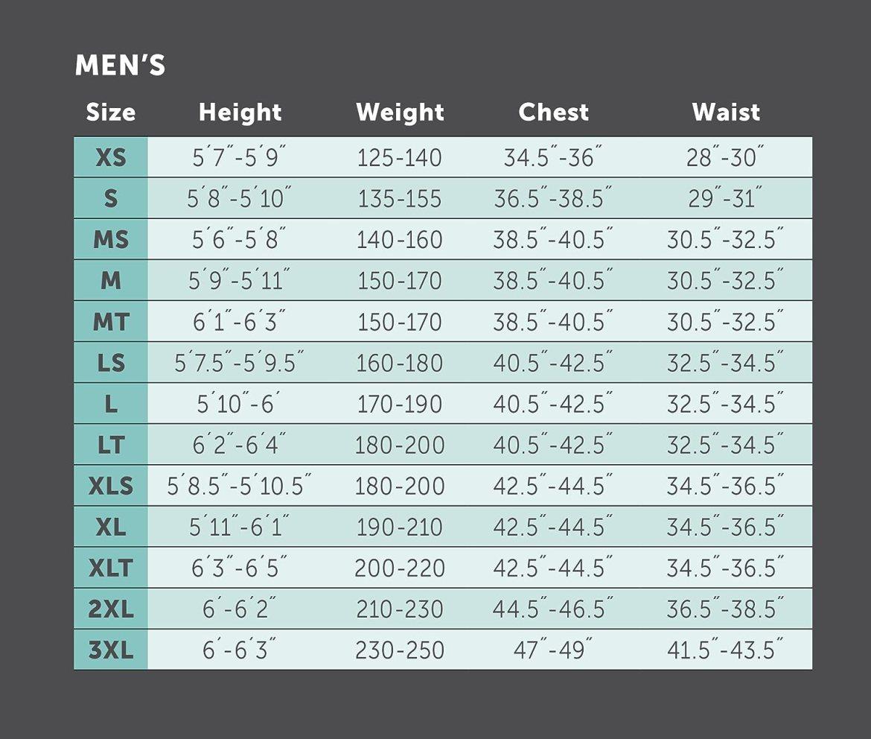 Image result for Phantom Aquatics 2.5mm Marine Shorty, Men's size chart