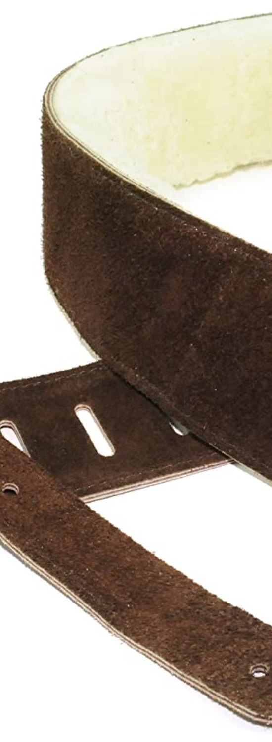 Perris Leathers DL325S-201 Suede Guitar Strap
