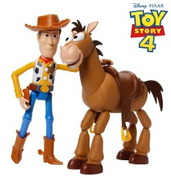 Toy Story 4-Pack de Aventuras de Woody y Perdigón