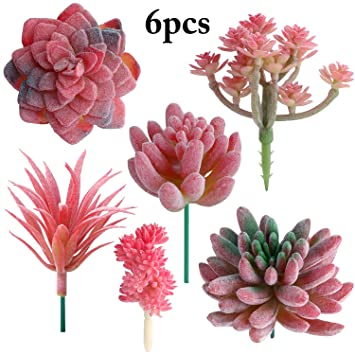 Buy Outgeek Artificial Succulent Creative Diy Fake Succulent Artificial Plant Online At Low Prices In India Amazon In