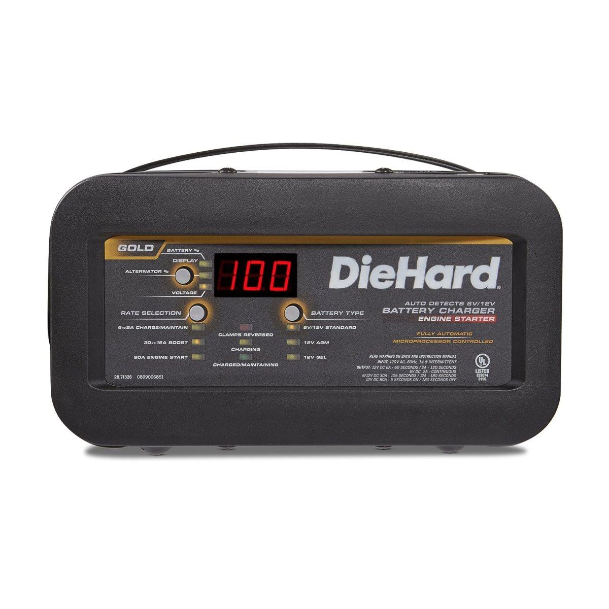 Best Jump Starters DieHard 71326 6/12V Gold Shelf Smart Battery Charger