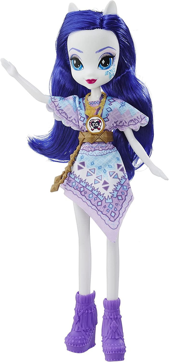 Amazon Com My Little Pony Equestria Girls Legend Of Everfree Rarity Doll Toys Games