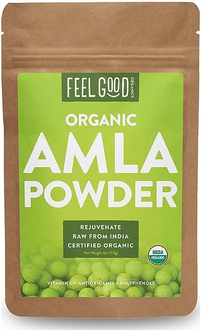 Feel Good Organic Amla Powder