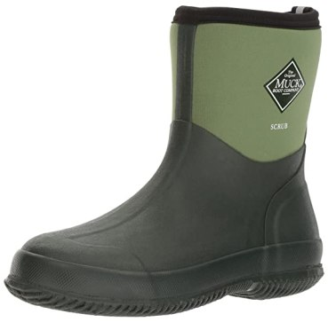 The Original MuckBoots Adult Scrub Boot,Garden Green,3 M US Mens/4 M US Womens