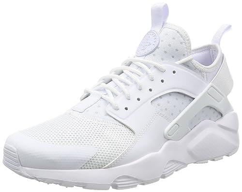 Nike Herren Air Huarache Run Ultra Mens Shoe Gymnastikschuhe Weißschwarz