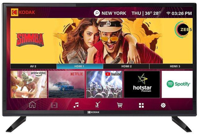 kodek smart TVs under 15k