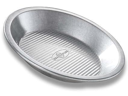 USA Pan Bakeware Aluminized Steel Pie Pan, 9-Inch