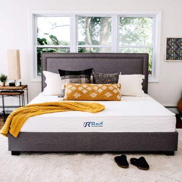 Sunrising Bedding 10 Inch Natural Latex Hybrid Queen Mattress