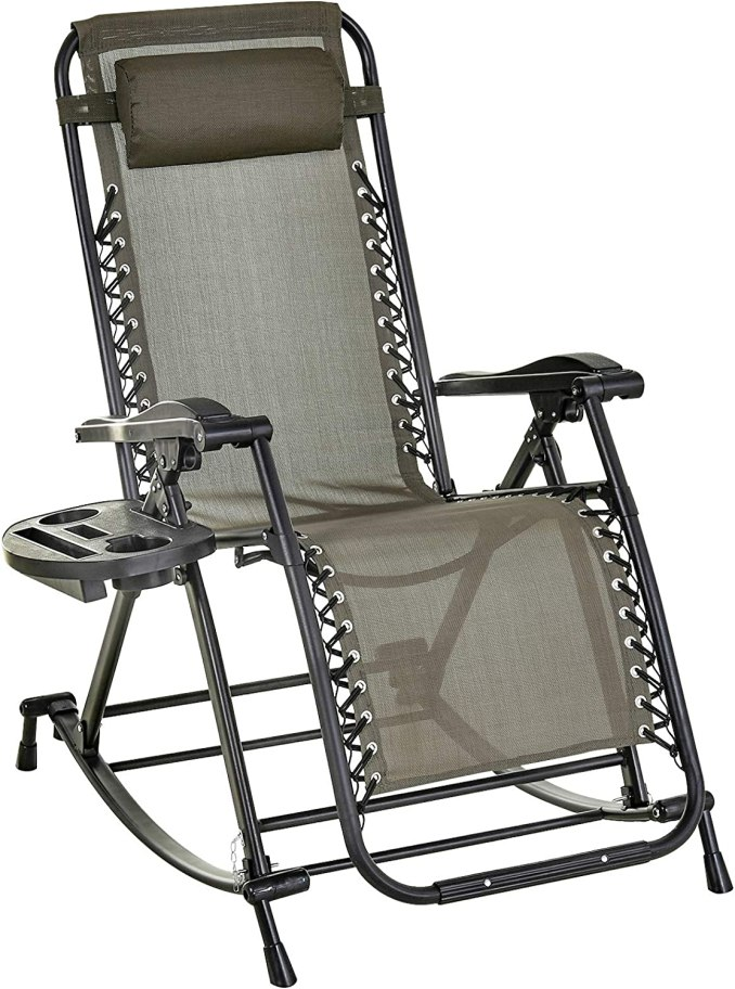 Four inexpensive zero gravity recliners - Outsunny