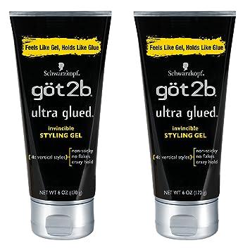 Got2b Glued Ultra Styling Gel (2 pack)