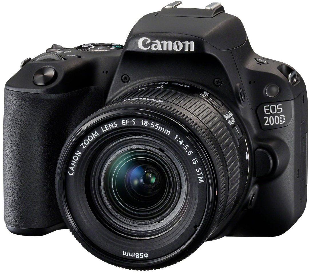 Canon EOS 200D Reflex numérique + EF-S 18-55mm f/4-5,6 IS STM