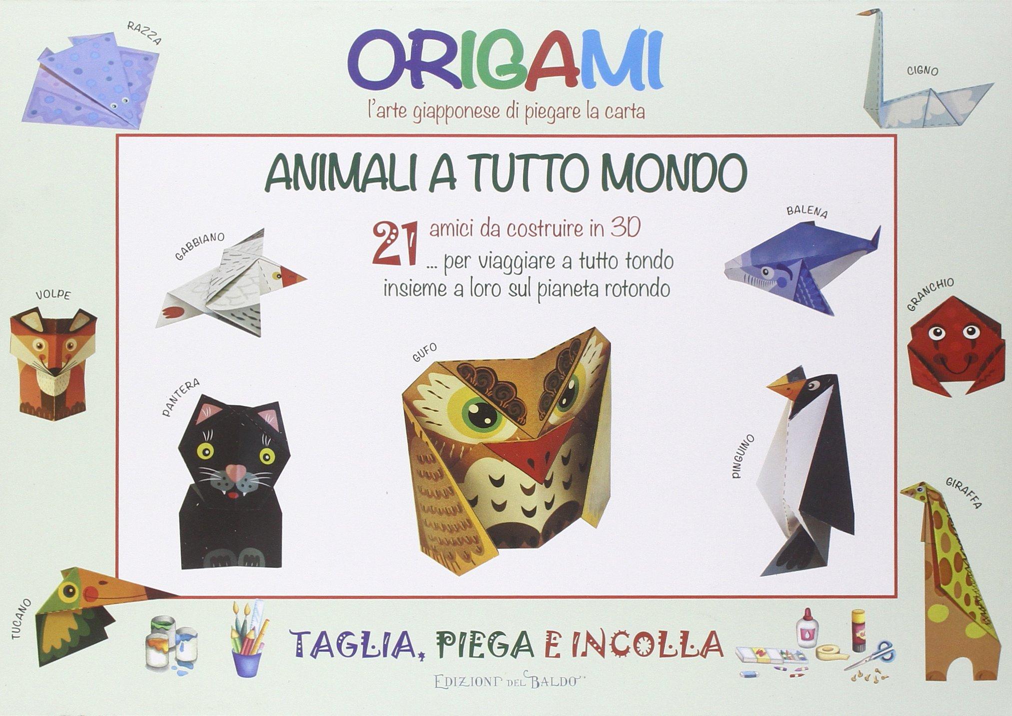 Origami Larte Giapponese Di Piegare La Carta