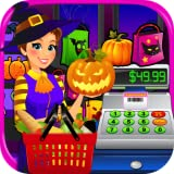 Supermarket Halloween Simulator - Kids Grocery Store & Cash Register Games FREE