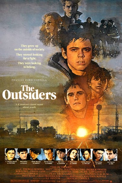 Amazon.com: The Outsiders Movie Poster 11x17 inches Style B ...