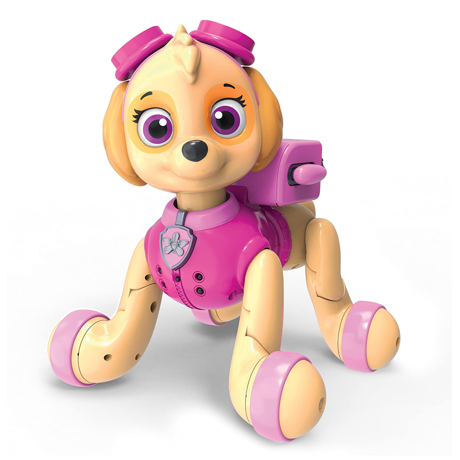 Paw Patrol, Zoomer Skye, Interactive Pup with Missions, Sounds and Phrases