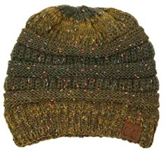 Image result for cc beanie green with speckles
