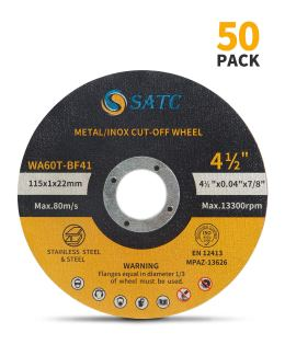 Best cut off wheel for stainless steel - S SATC