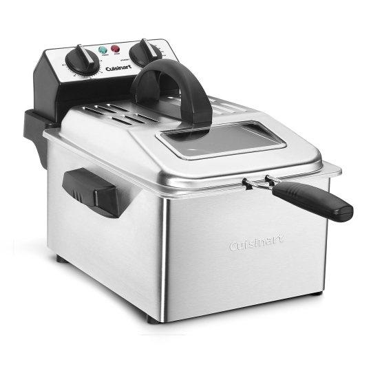 Cuisinart CDF-200 Deep Fryer, 4 quarts, Stainless Steel