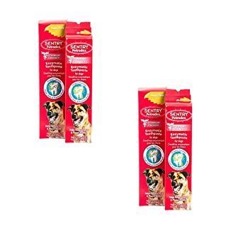 Petrodex Enzymatic Toothpaste Dog Poultry Flavor, 6.2-Ounce, 2 Count (2 Pack)