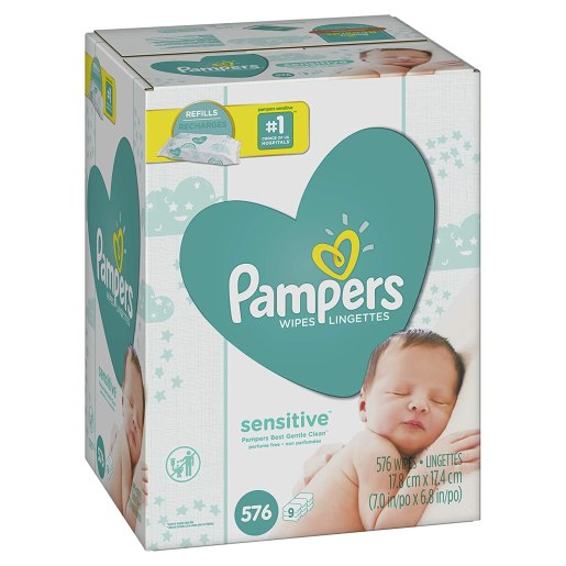Pampers Sensitive Water-Based Baby Diaper Wipes Review