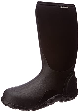 Bogs Men's Classic High No Handle Waterproof Insulated Rain Boot