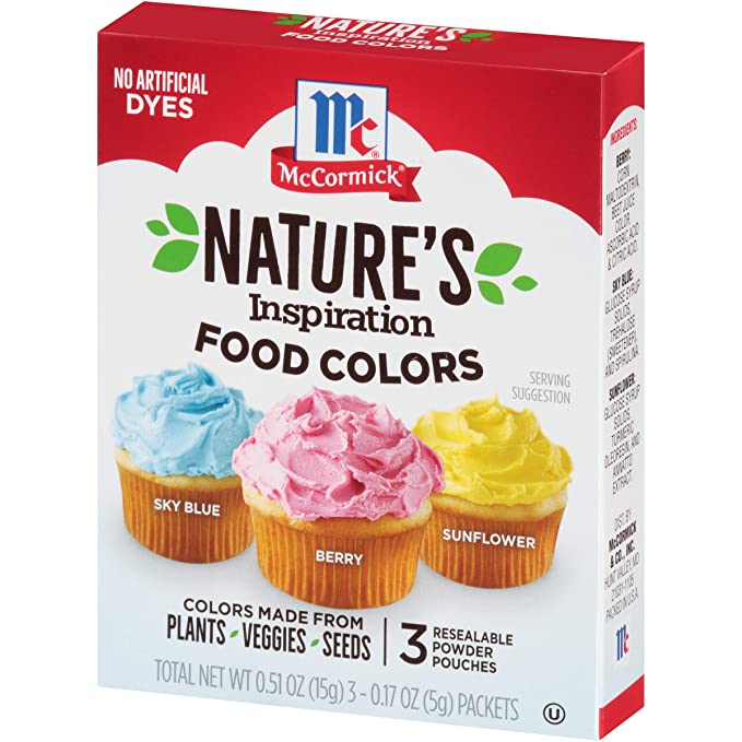 McCormick Nature's Inspirations Food Coloring