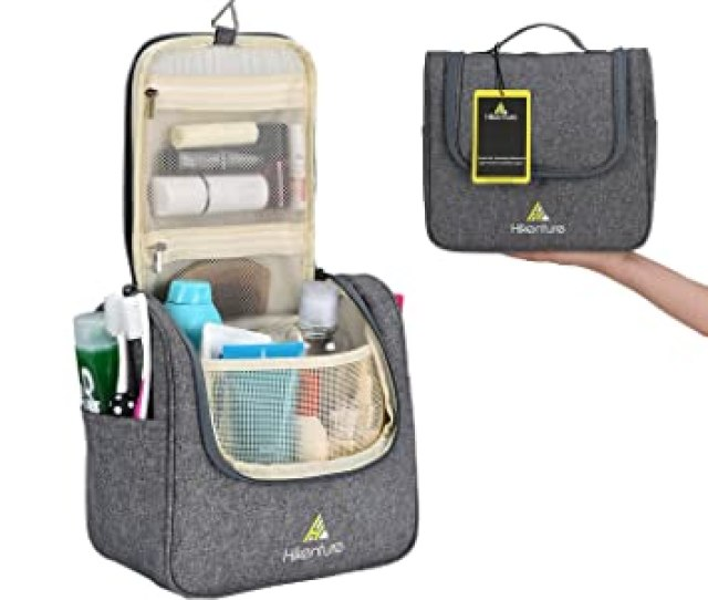 00a0d75825c5 Travel Hanging Toiletry Bag By Hikenture Cosmetics Makeup And Toiletries  Organizer Compact Bathroom