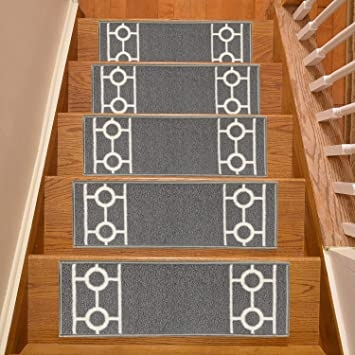Machine Washable Stair Treads Skid Slip Resistant Backing Indoor   Washable Carpet Stair Treads   Removable Washable   Machine Washable   Rubber Backing   Slip Resistant   Self Adhesive