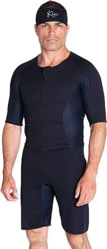 Kutting Weight Sauna Suit – Body Toning Clothing – Fat Burner Short Sleeve Sauna Suit